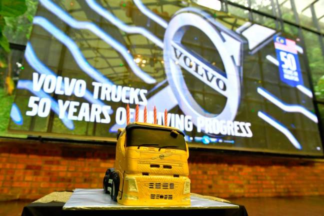 Happy 50th to Volvo Trucks Malaysia!