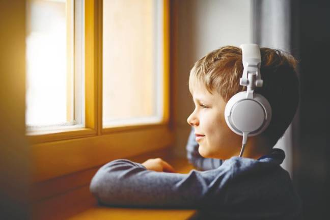 Audiobooks help boost reading and writing skills