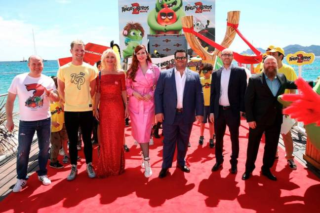 The Angry Birds Movie 2 at Cannes