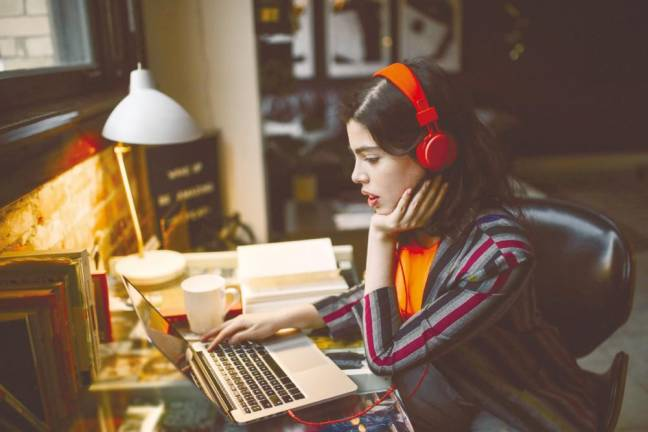 Music can boost productivity