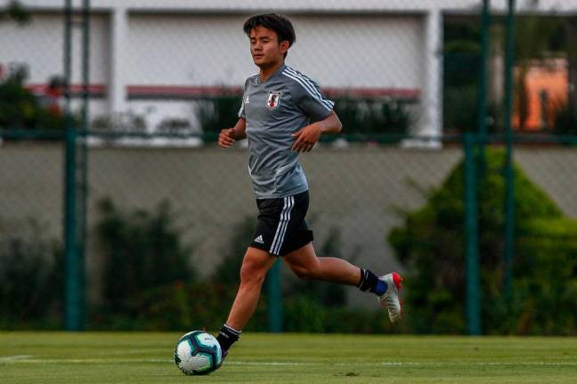 Real Madrid confirm signing of 'Japanese Messi' Kubo