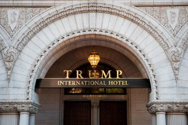 Trump hotel's sushi restaurant wins Michelin star