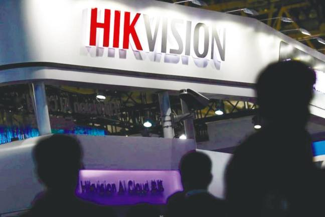 Now, China surveillance tech firm Hikvision on US blacklist radar