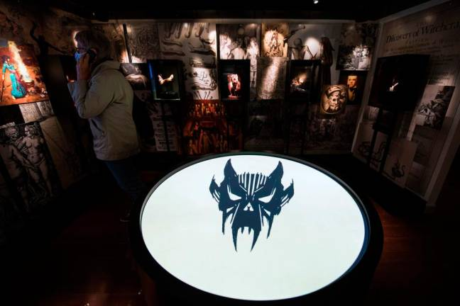 Danish museum brings witch hunts to life