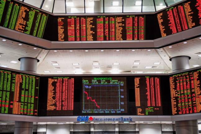 Foreign selloff accelerates to RM1.13b last week
