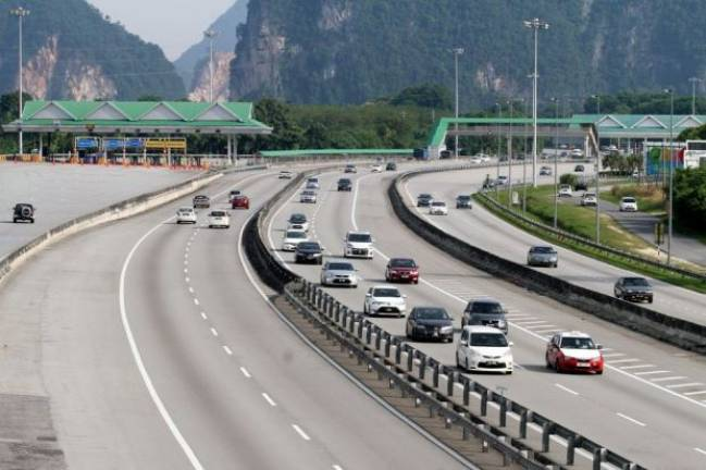 Last day of CNY holidays: Morning traffic on highways smooth