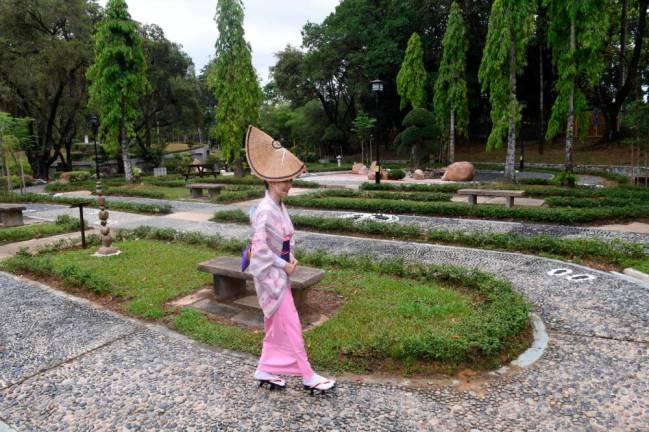 Selangor-Japan Friendship Garden in Shah Alam is now open