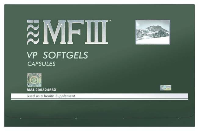 The benefits of MF3 VP Softgels health supplements