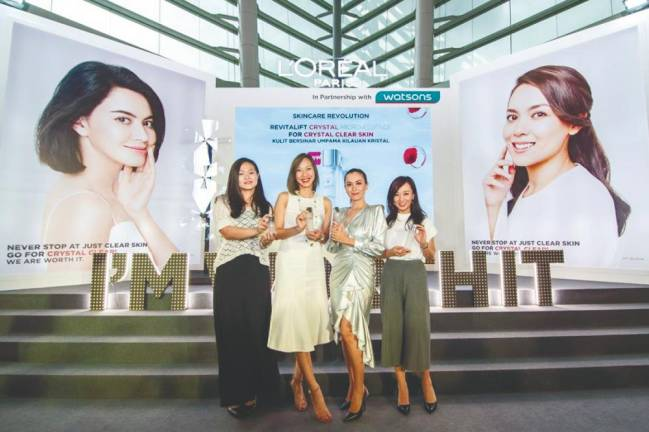 L'Oreal introduces new solution to crystal-clear skin