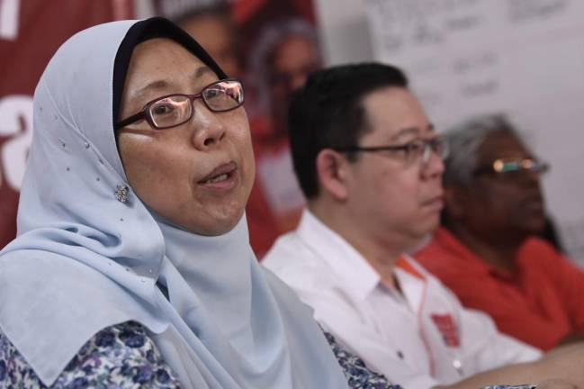 Fuziah acknowledges the term 'terrorist' needs clearer definition