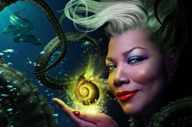 Queen Latifah is perfectly cast as Ursula in The Little Mermaid Live!