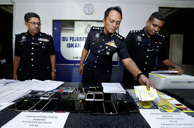Fake loan scam causing RM1.3m in losses crippled