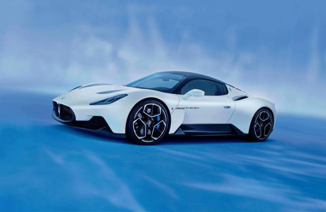 MC20 'Most Beautiful Supercar of the Year 2021'