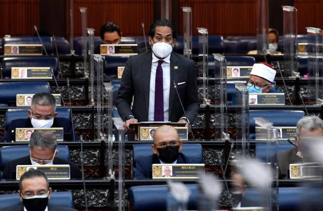 Khairy assures transparency in expenditure, agreements for vaccine  procurement