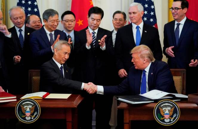 In U.S.-China Phase 1 trade deal, enforcement may end in 'We quit'