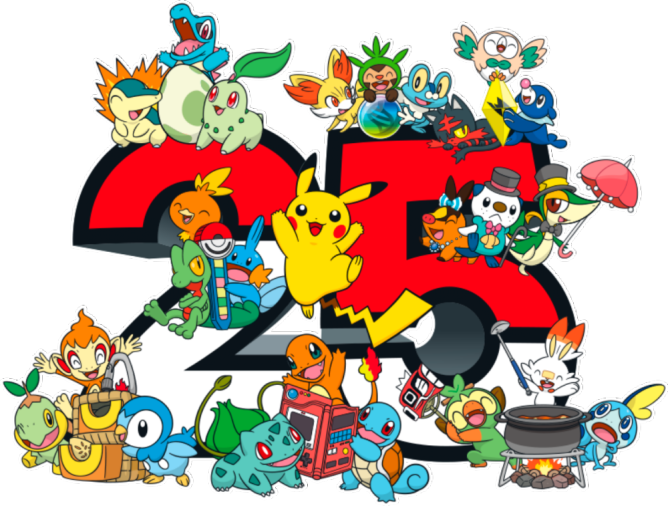 Global fans get to celebrate Pokemon's 25th Anniversary with exciting activities