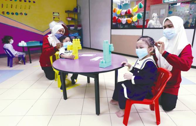 Early intervention centres running out of funds