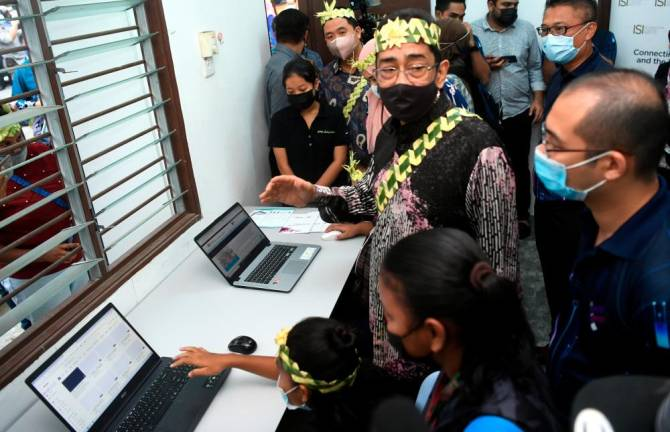 KKMM increases internet coverage to ensure Orang Asli not marginalised