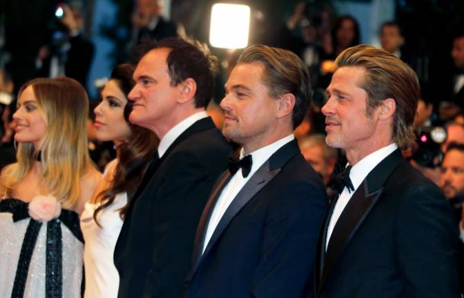 Tarantino rolls into Cannes with ode to cinema