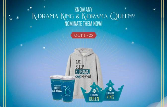 Win exclusive Kdrama King or Queen prizes on Oh!K's anniversary