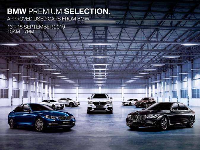 $!Largest pre-owned BMW, MINI fair Sept 13-15