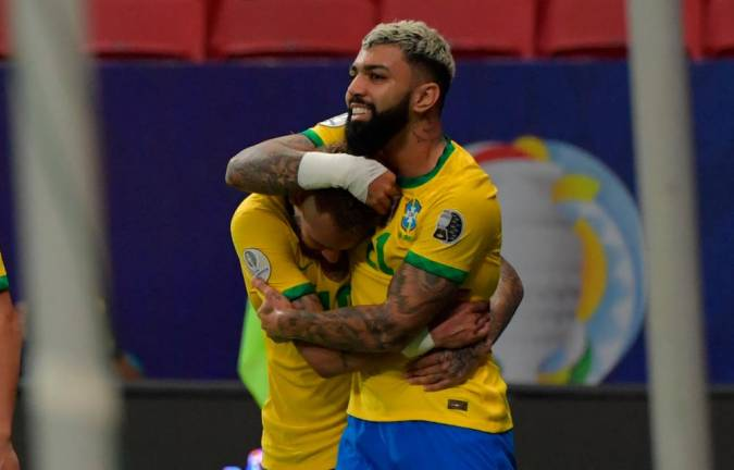 Brazil open Copa America with 3-0 win over Venezuela