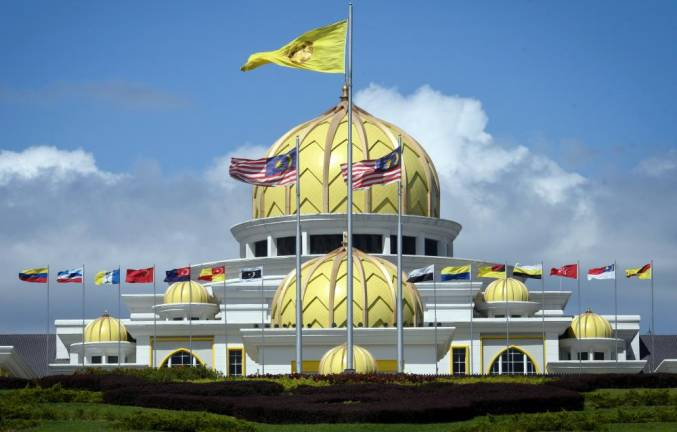 Malay rulers arrive at Istana Negara for election of new King