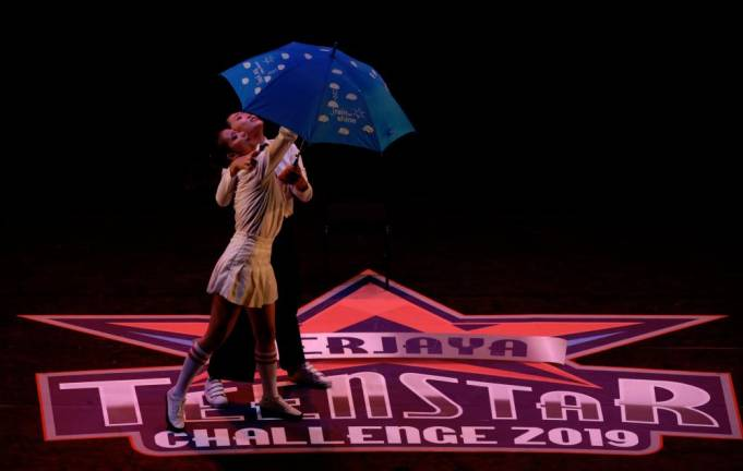 ODD Muse perform during Modern Dancing At Berjaya Teenstar Challenge 2019. Asyrafrasid/ the sun