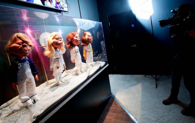 ABBA exhibition opens in London