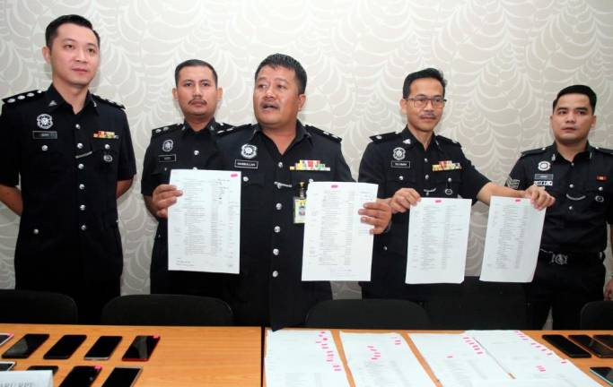 13 arrested for running loan scam syndicate in Ipoh