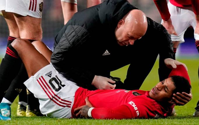 Rashford targets rapid return to fitness after back injury