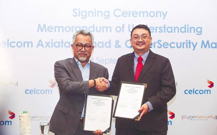 Celcom partners CyberSecurity Malaysia for digital security