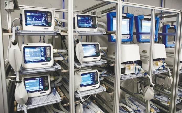K-One awarded licence to distribute Vital ventilators worldwide