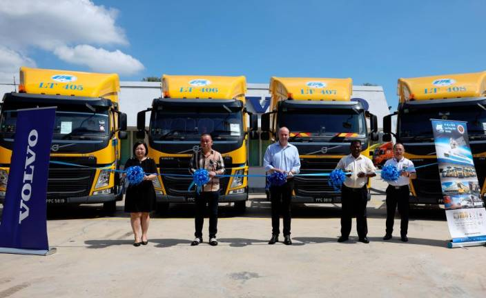 38 Volvo Trucks delivered to logistics company