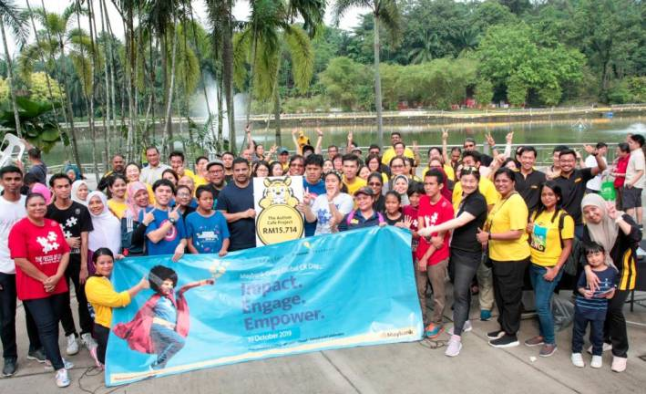 Maybank celebrates the spirit of volunteerism