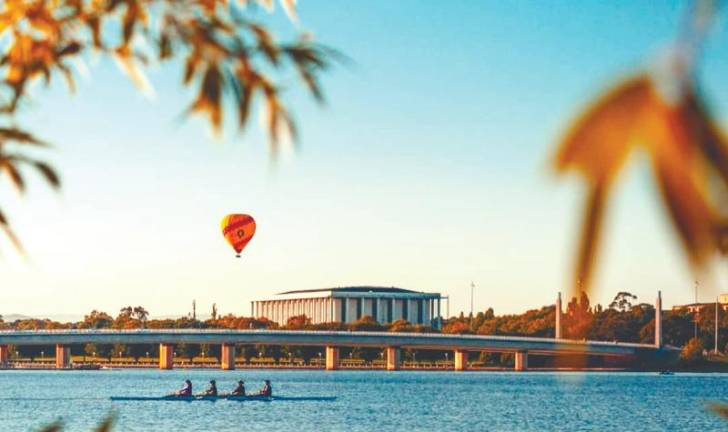 Canberra is fast emerging as a popular tourist destination