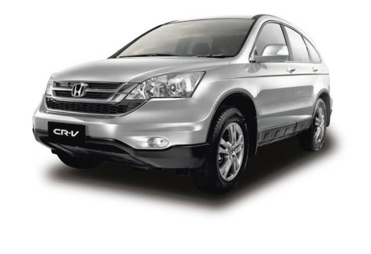 The CR-V is one of the affected models of the Takata front airbag inflator replacement exercise.