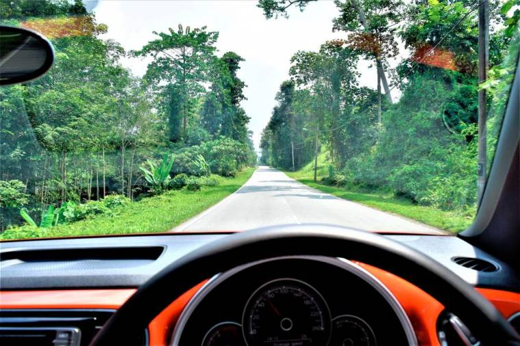 A rejuvenating drive every time in the Beetle. This one along the rural roads of Negri Sembilan.