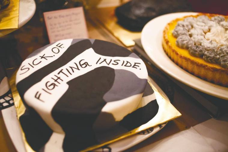 Some samples of cakes from The Depressed Cake Shop. – Courtesy of Aisyah Ambok