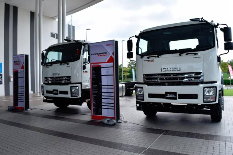$!Isuzu widens appeal, expands lorry range