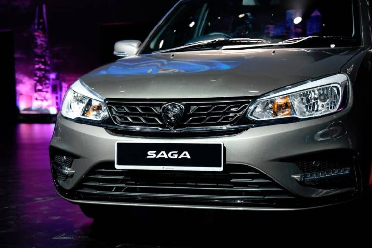 Updated Proton Saga launched – from RM32,800