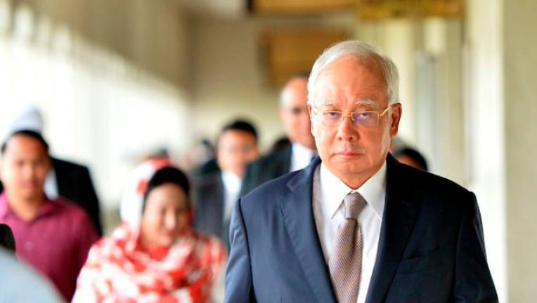Najib out on MACC bail after arrest in morning (Updated)