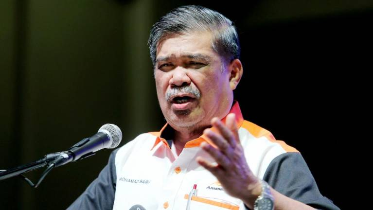 Mohamad Sabu says he did not belittle Malaysian military