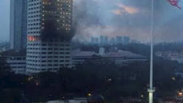 Fire breaks out at police headquarters in Bukit Aman