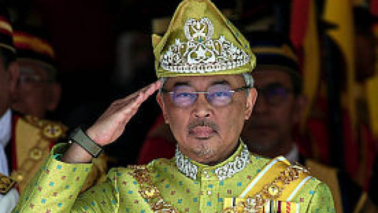 Agong and Raja Permaisuri convey condolences to Wan Azizah