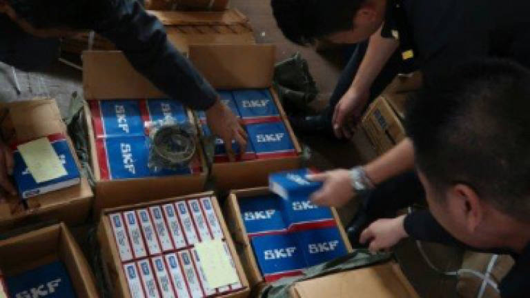 Authorities seize counterfeit SKF bearings in Sabah