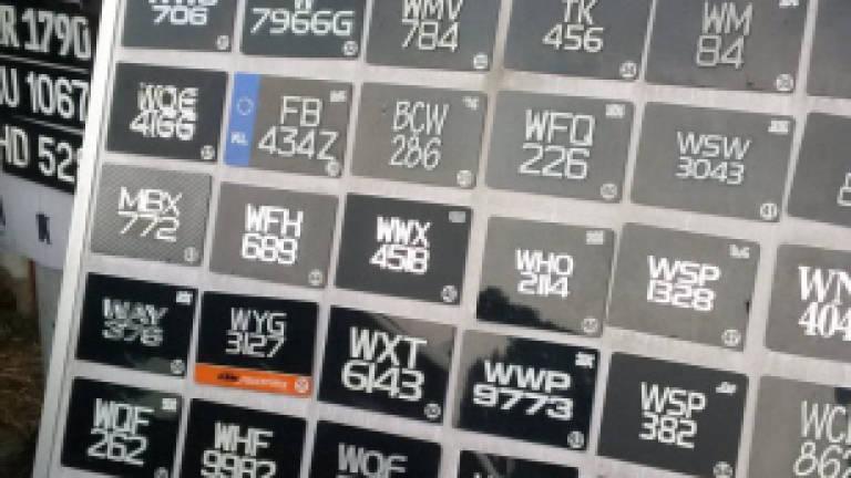 New car license plates for Putrajaya and KL