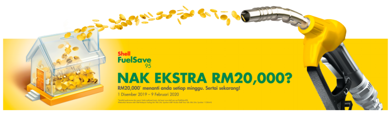 Want an extra RM20,000 from Shell?
