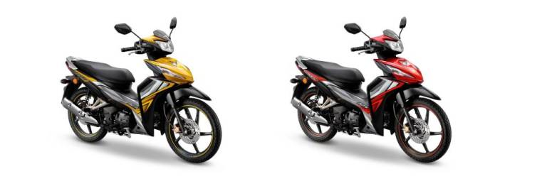 Honda Dash 125 new colours and stripes for 2020