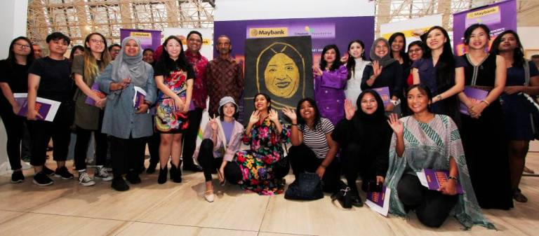 Maybank celebrates women artists